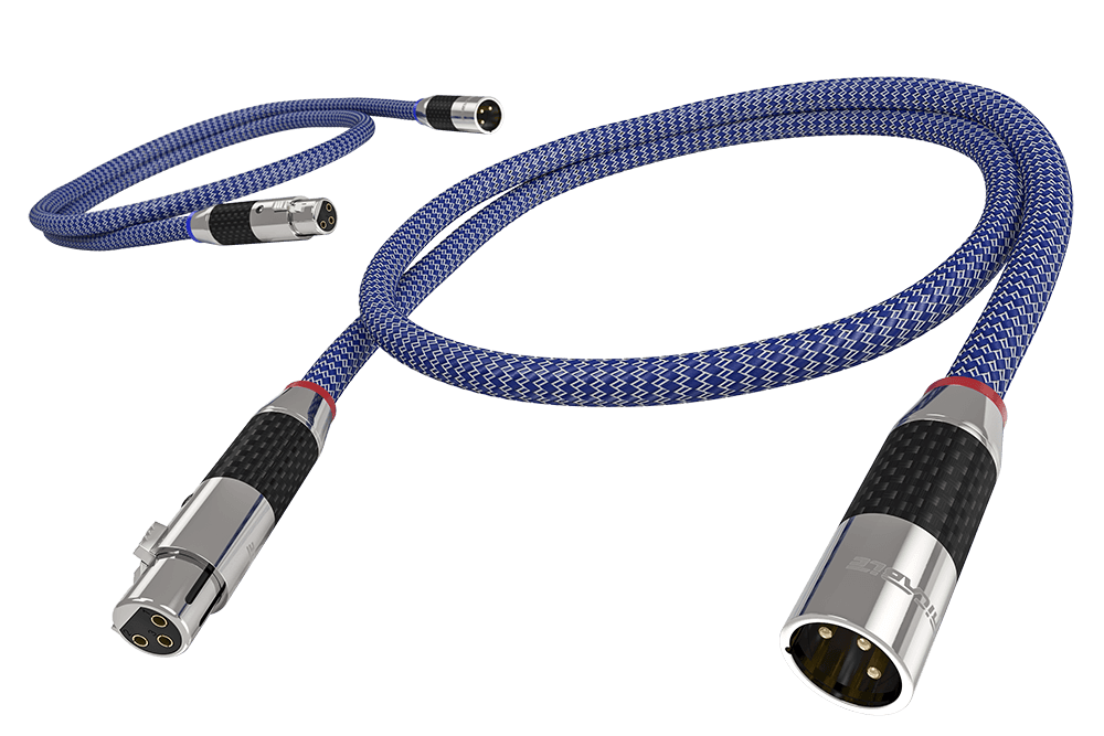 Balanced XLR-Ricable-Connect Your Passion Stereo Cables