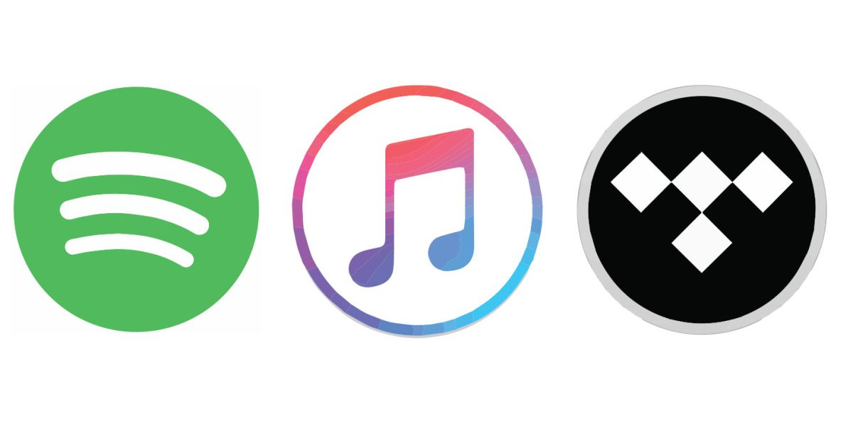spotify apple music tidal