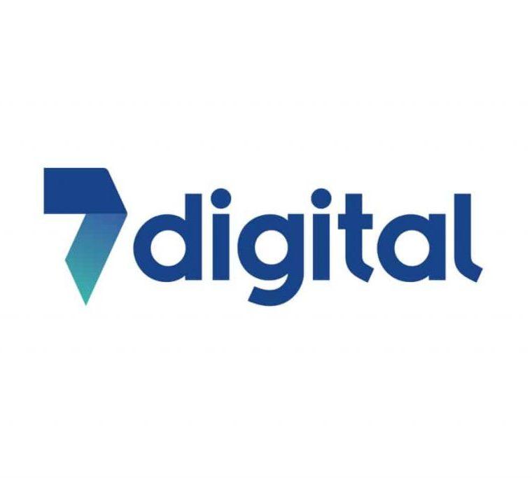7 digital logo