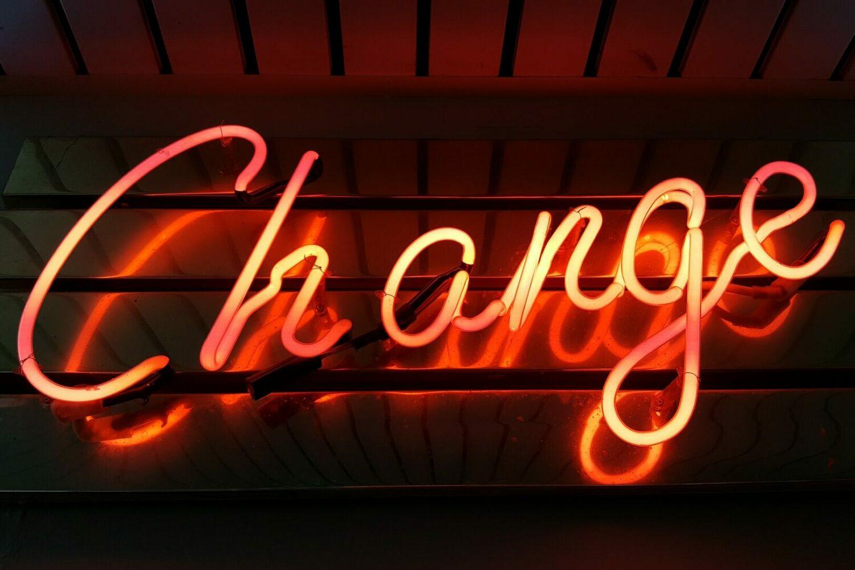 change cambiamento