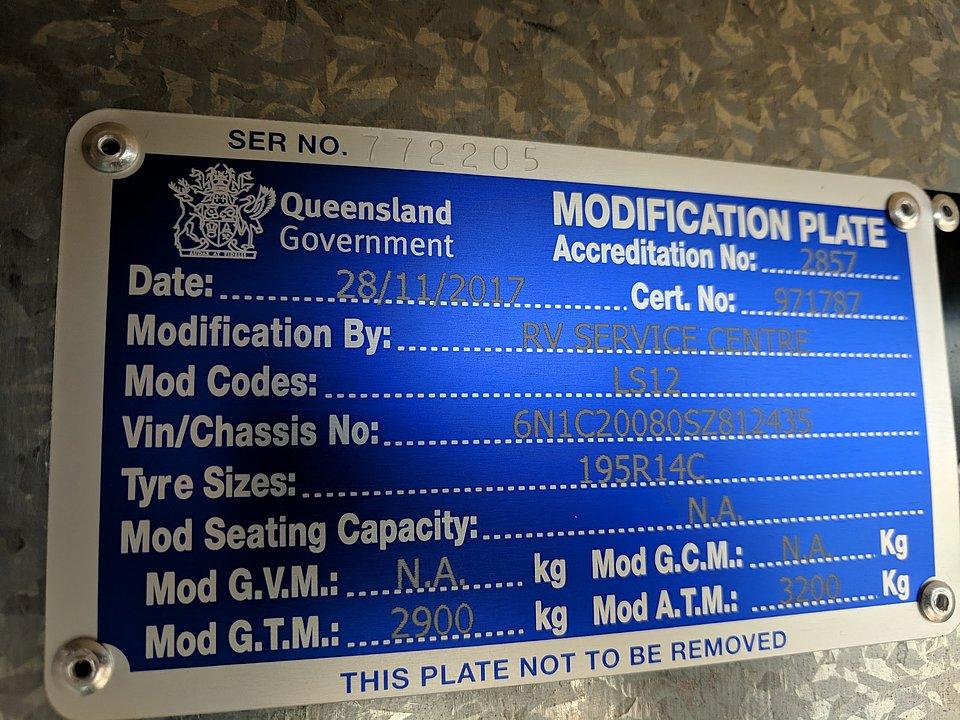 modification plate
